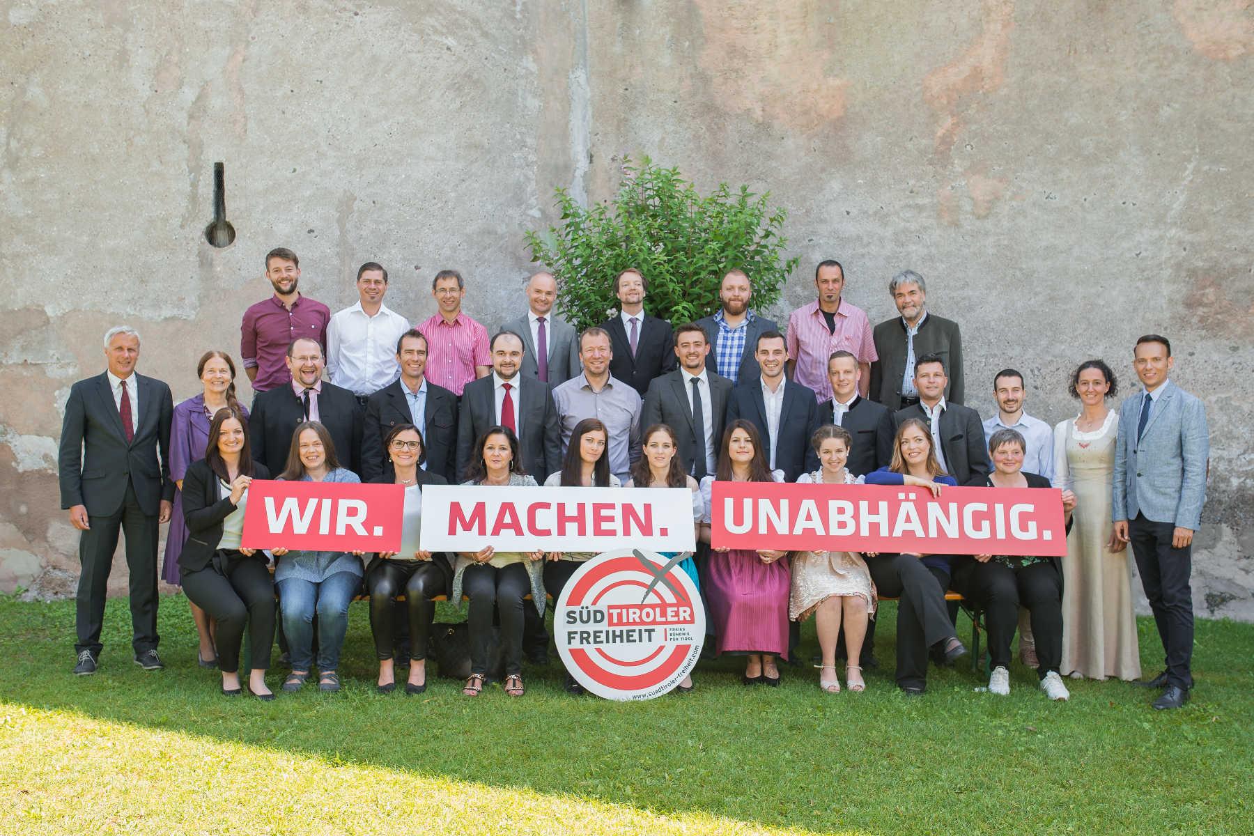 LandtagswahlKandidatenliste vollständig – Reihung beschlossen