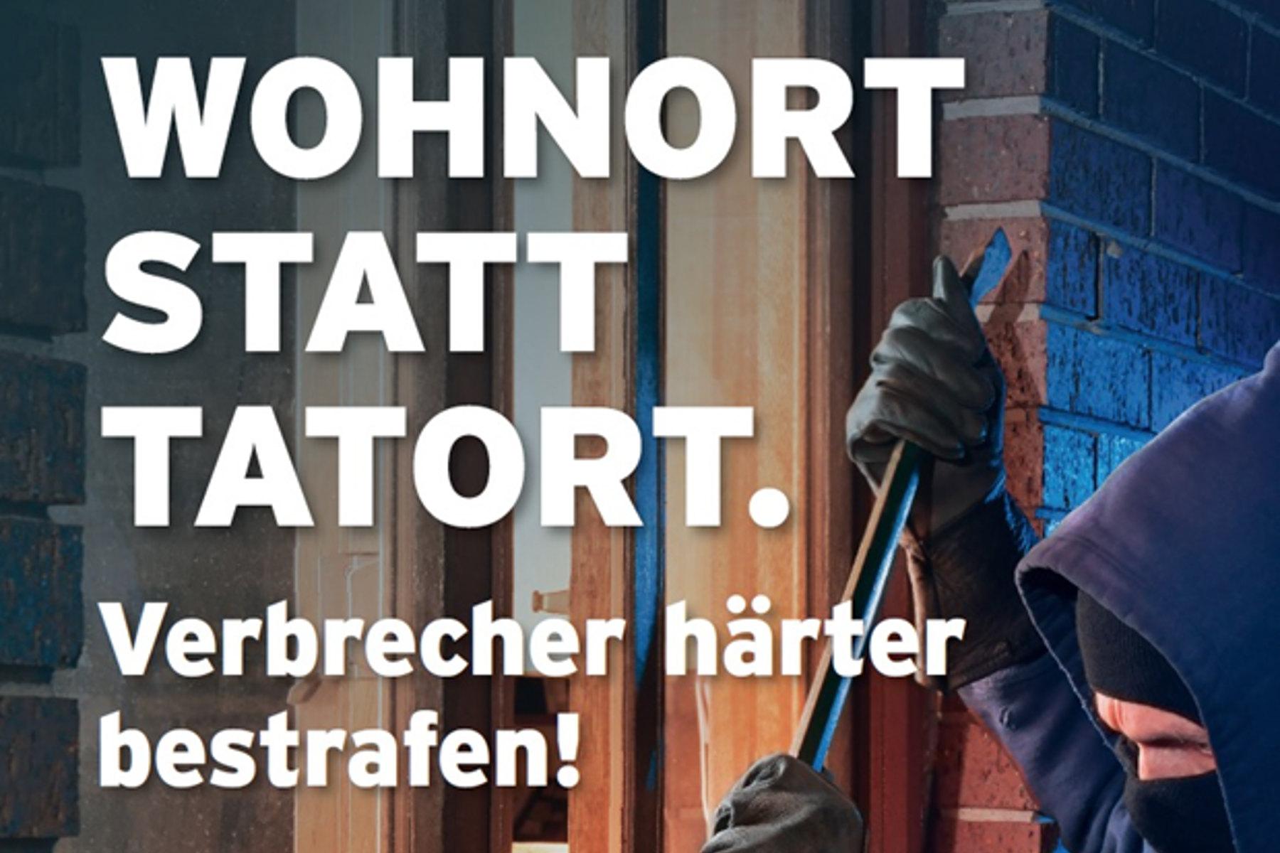 Start der Plakat-Aktion im BurggrafenamtSüd-Tiroler Freiheit fordert konsequente Strafverfolgung Krimineller.