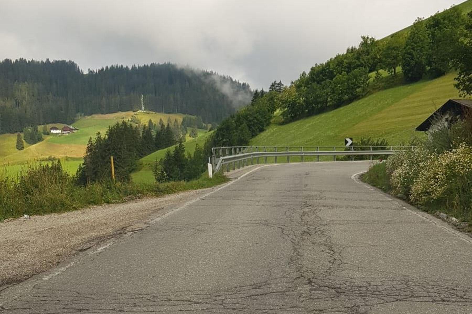 Straßenzustand weiterhin prekärSüd-Tiroler Freiheit informiert sich in Ost-Tirol!