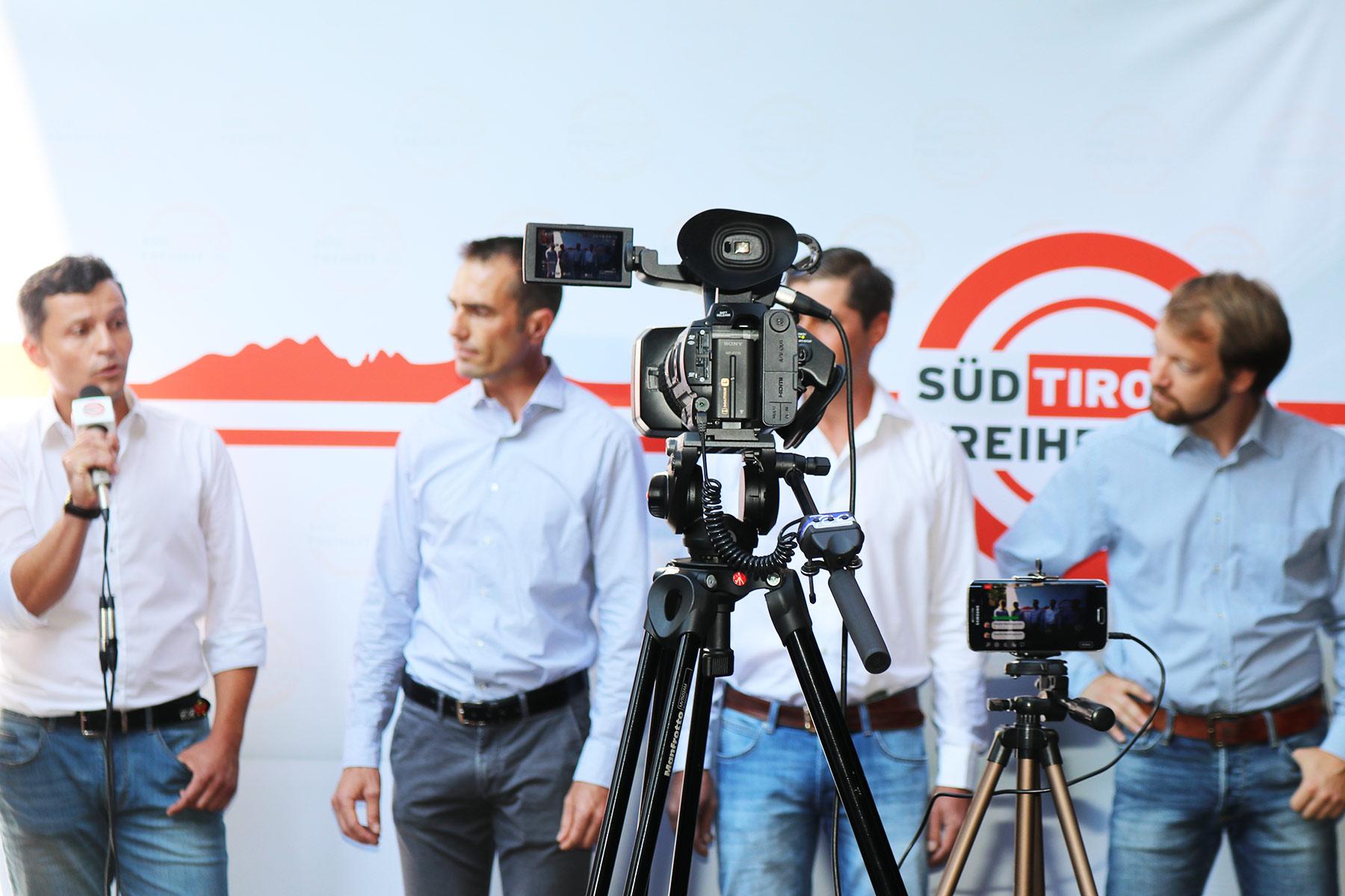 Die Bilder und Videos Unsere Kandidaten für Bozen Stadt und Land