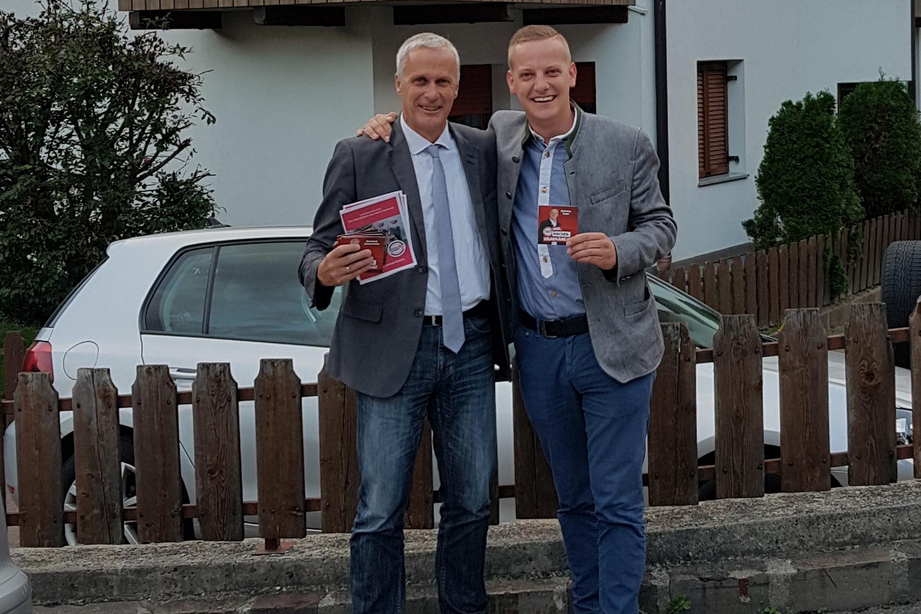 Landtagswahl 2018 - Heiße PhaseSüd-Tiroler Freiheit startet mit Hausbesuchen