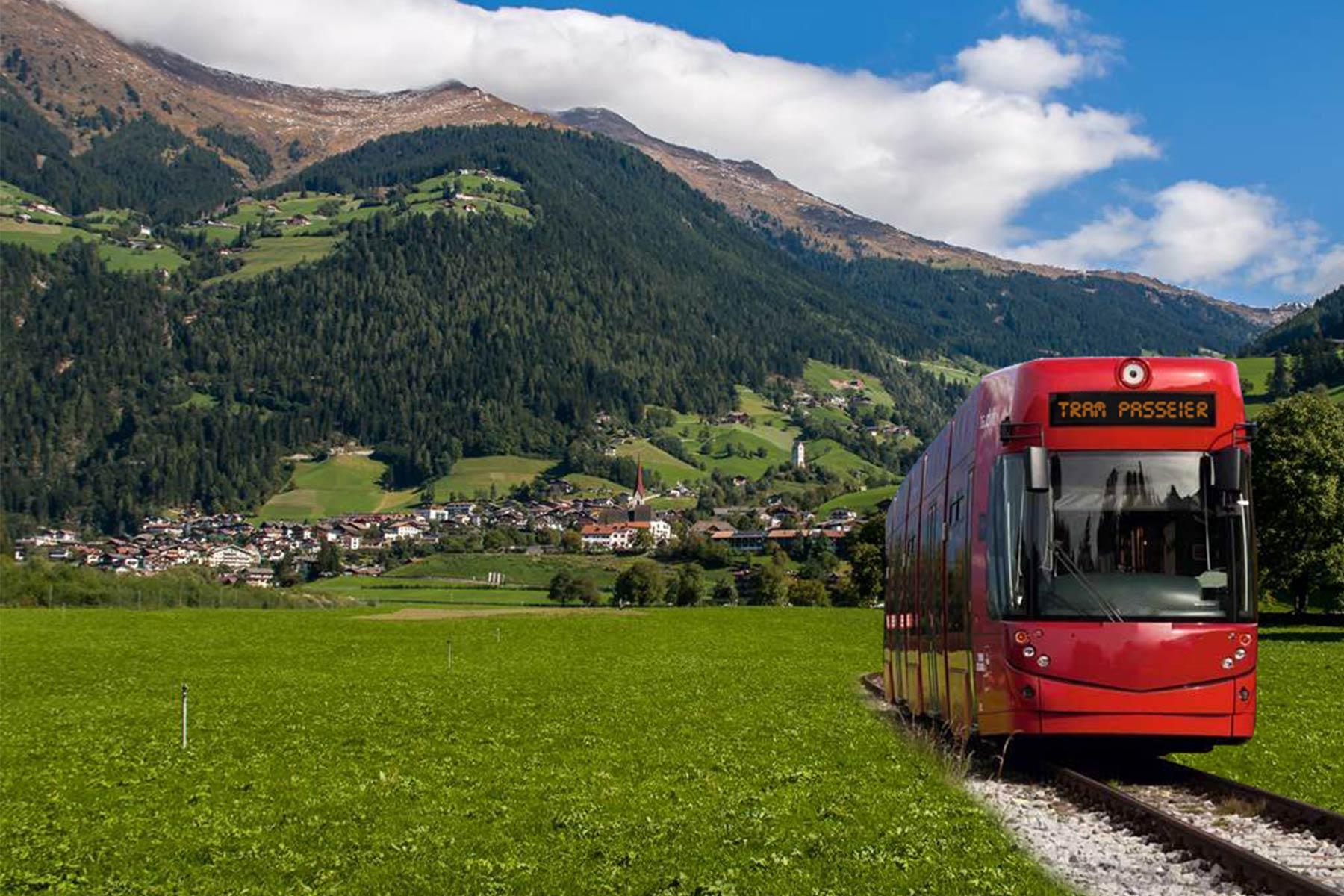 Im Video Bahn ins Passeiertal