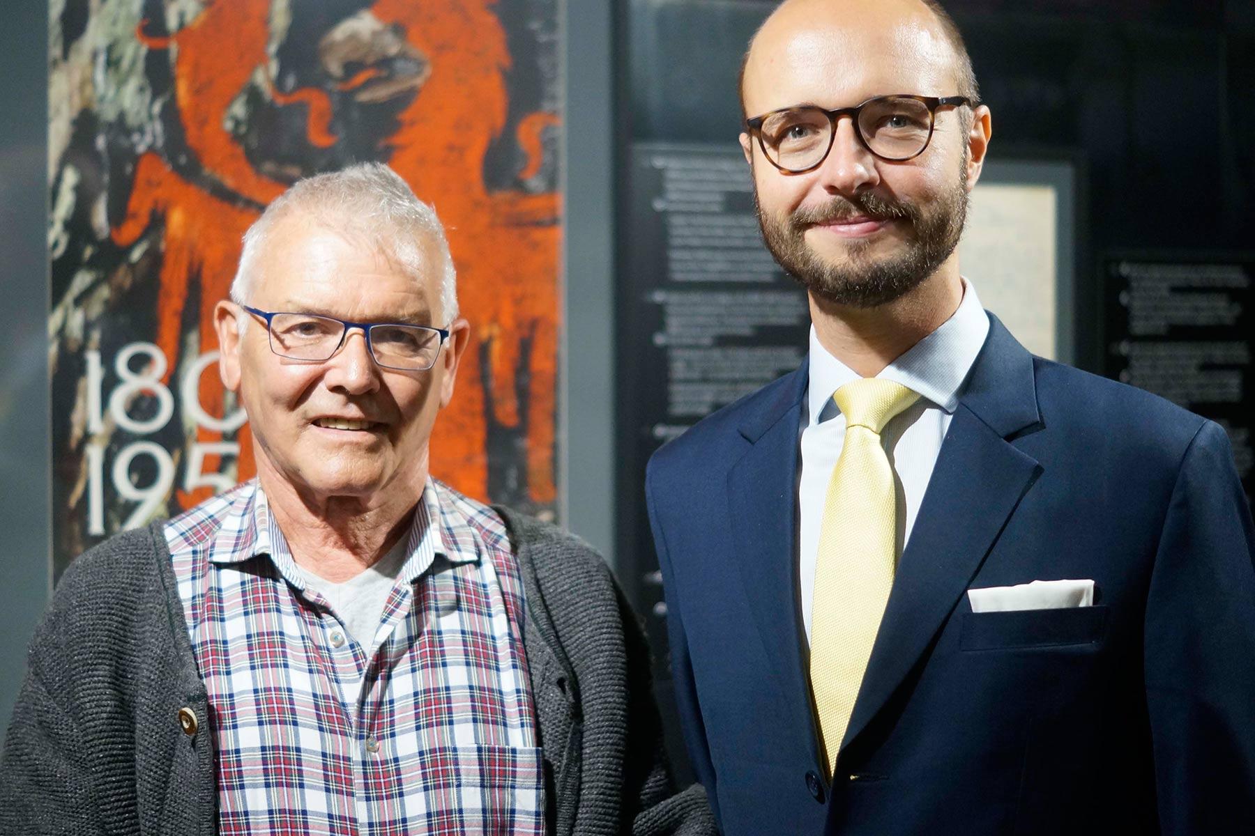 Südtiroler FreiheitskampfLinzer Vizebürgermeister besuchte BAS-Gedächtnisausstellung