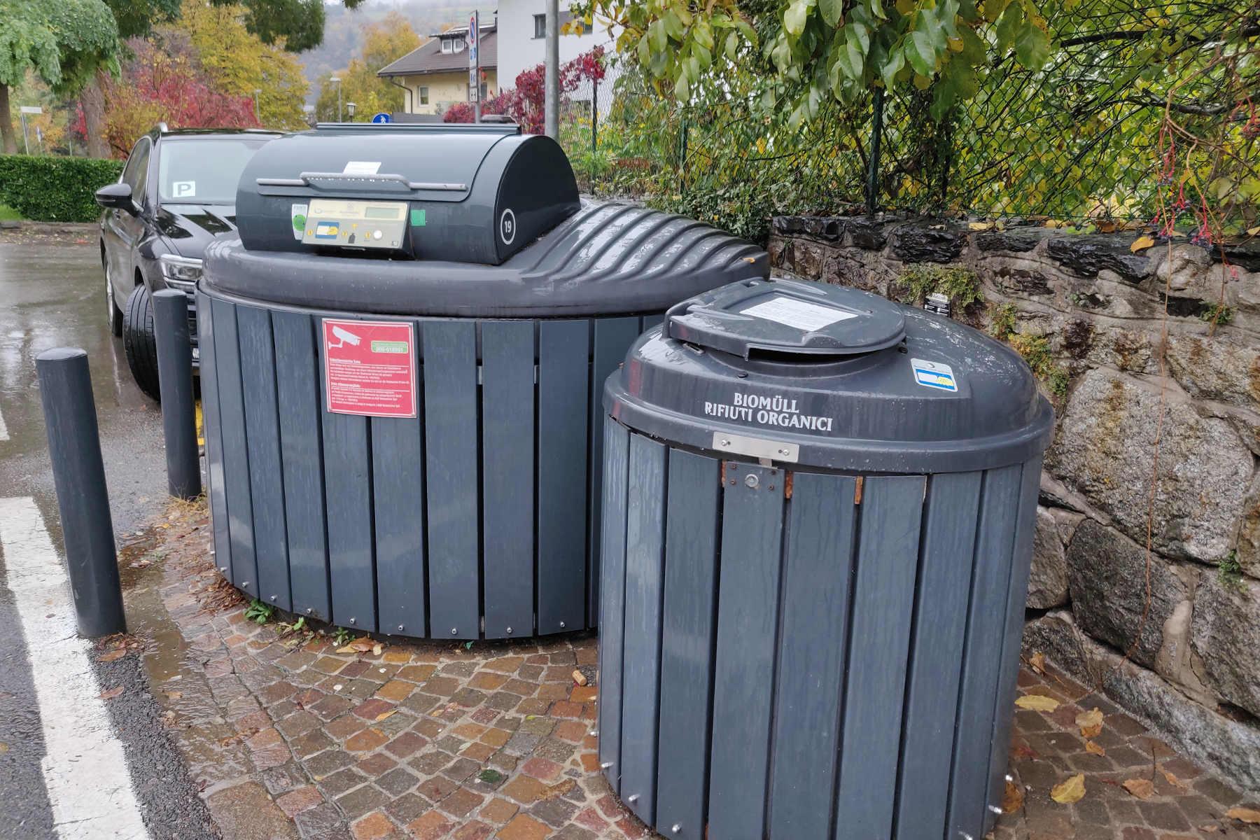 BrixenECO-Müllsammelstellen erweitern