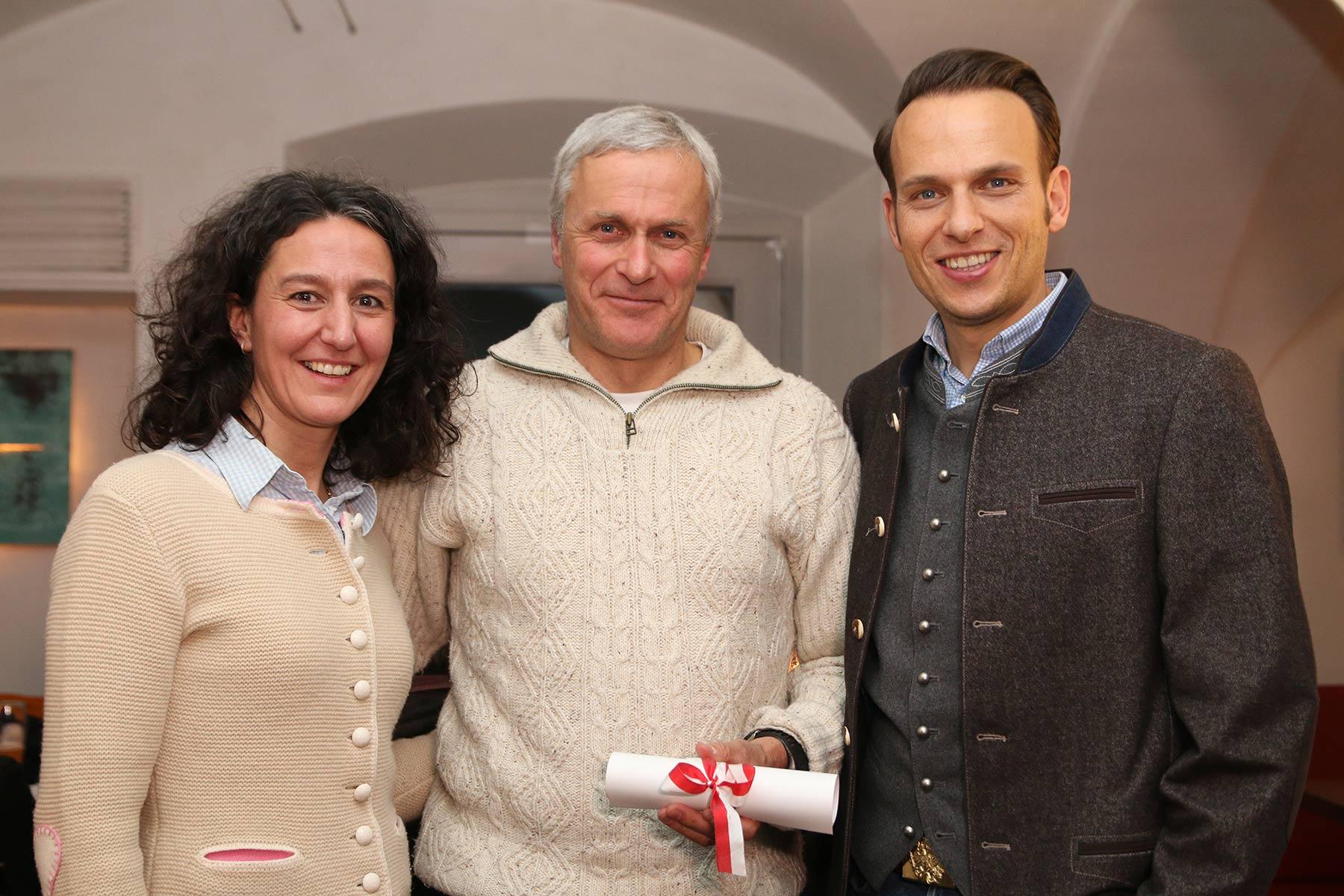 Mitgliedertreffen im AhrntalEhrung für Bernhard Zimmerhofer und Herbert Campidell