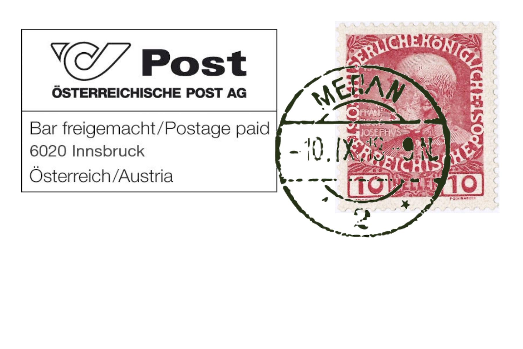Unzuverlässige italienische Post:Süd-Tiroler Landespost aufbauen.